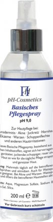 Basisches Pflegespray - pH 9.0 - 200ml