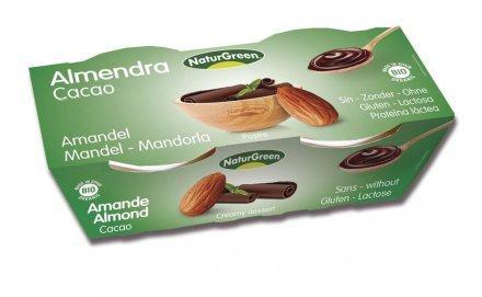 Mandeldessert Kakao - NaturGreen - Bio - 2 x 125g