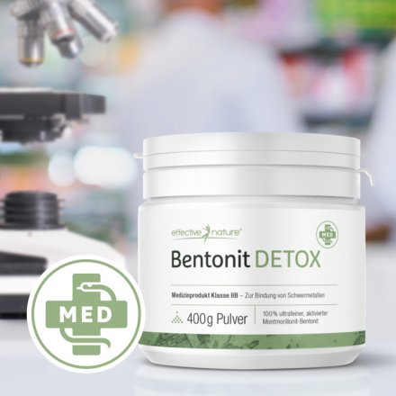 Bentonit Detox Pulver 1200g