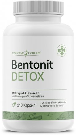 Bentonit-Detox-Programm