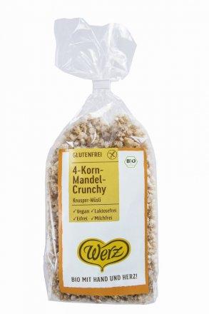 4-Korn Mandel-Crunchy - Bio - 250g