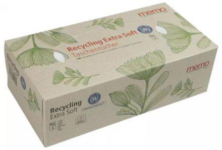 Taschentücher in Box 4lagig - Memo - 15 x 100 Stk.