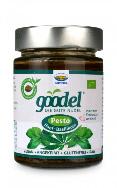 Pesto - Hanf-Basilikum - Bio - 150g