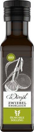 Zwiebel-Knoblauch Würzöl mit kaltgepresstem Bio-Rapsöl