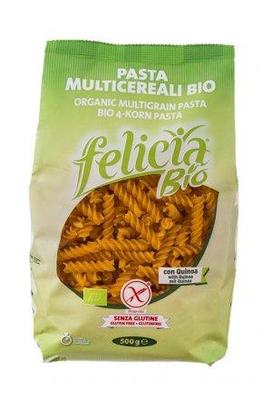 4-Korn Fusilli - Bio - Felicia Bio - 500g
