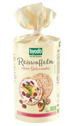 Reiswaffeln ohne Salzzusatz - Bio - Byodo - 100g