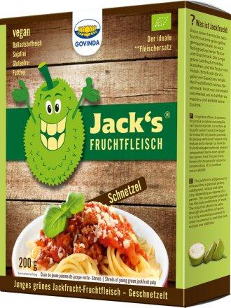 Jacks Fruchtfleisch-Schnetzel - Bio - 218g