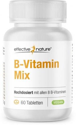 Hochdosierter B-Vitamin-Mix mit allen 8 B-Vitaminen