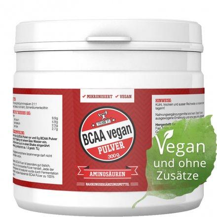 BCAA Pulver - Mikronisiert - Vegan - 300g