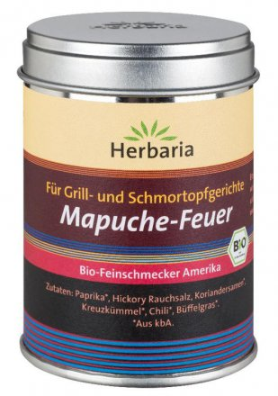 Mapuche-Feuer für Grillgerichte - Bio - 95g - Herbaria