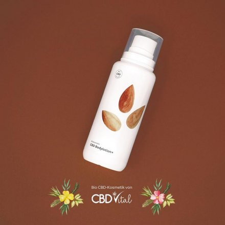 CBD Bodylotion plus - 100ml