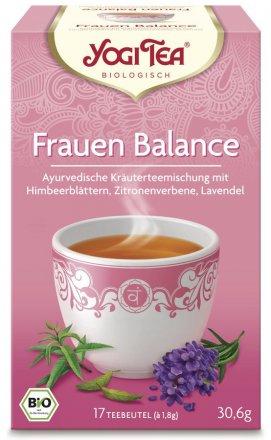 Kräuterteemischung - speziell für die Balance der Frau