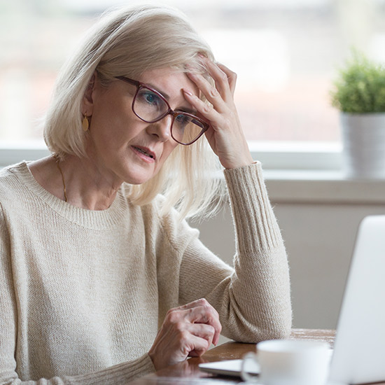 Gedächtnisprobleme während der Menopause