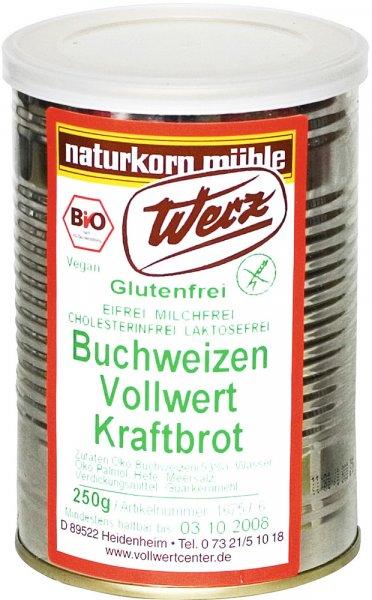 Buchweizen-Vollwert-Kraftbrot - Bio - 250g