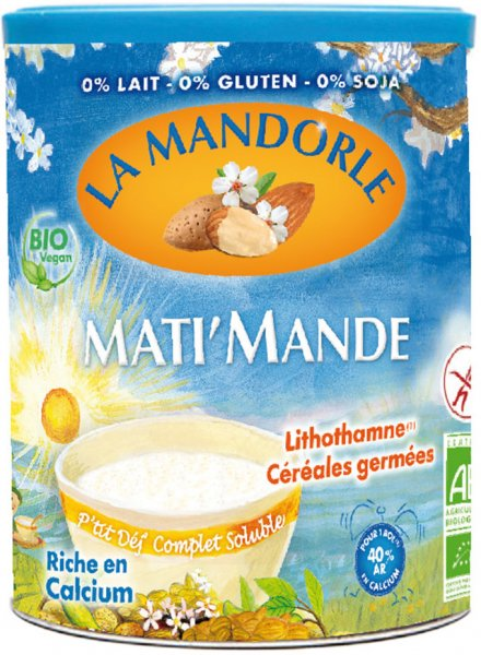 Frühstück mit Mandeln (Mati Mande) - Bio - 400g