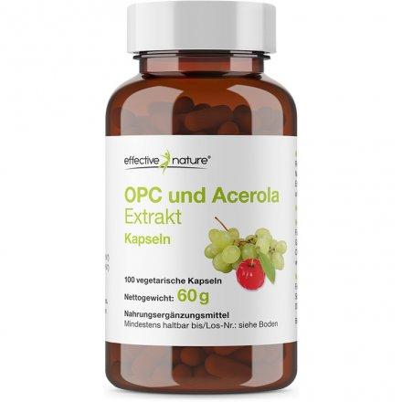 OPC + Acerola-Extrakt Kapseln - 100 Stk. - 60g