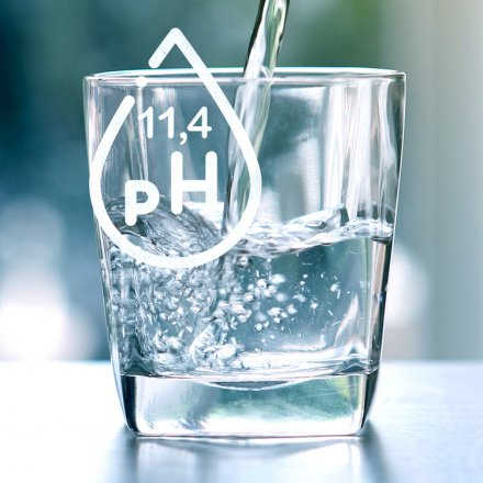Basisches Wasser