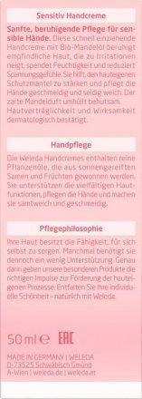 Mandel Sensitiv Handcreme - Weleda