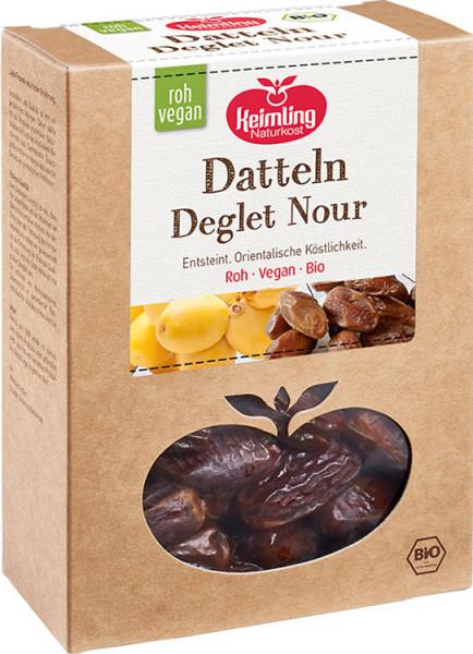 Datteln - Deglet Nour Supreme - entsteint - getrocknet - Bio - 500g