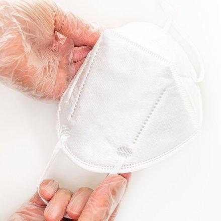 Effektive Schutzmaske FFP-2 - im Doppelpack