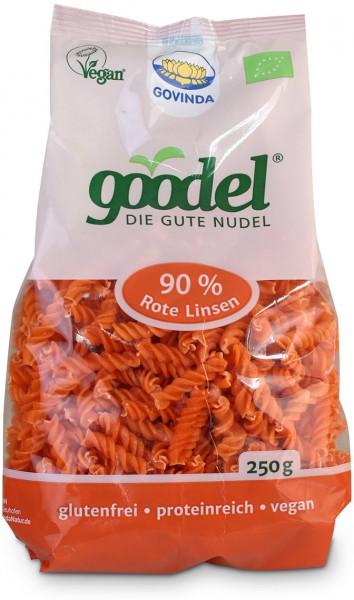 Goodel - Spirellis aus roten Linsen - Bio - 250g
