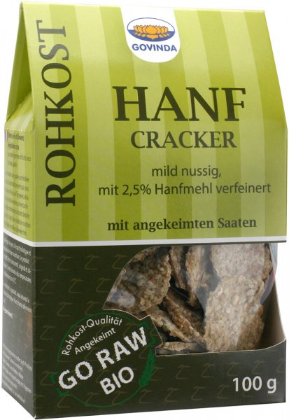 Hanf Cracker - Bio - 100g